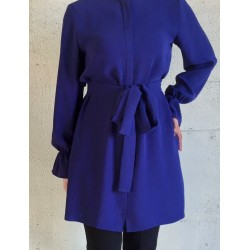 İndigo (Saks Mavisi) Ceket