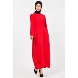 Diamond Elbise (Kırmızı)